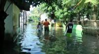 Perumahan Pondok Hijau Permai Bekasi Masih Terendam Banjir
