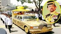 Intip Harga Ribuan Mobil Mewah Koleksi Sultan Brunei