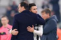 Ronaldo Kirim Pesan Perpisahan untuk Allegri