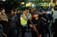 Bersenjata Lengkap, Brimob <i>Sweeping</i> Warga Jatim yang Ikut Aksi 22 Mei