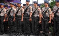Petugas Gabungan Patroli Antisipasi Aksi 22 Mei