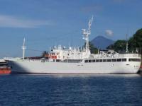 KP Hiu 05 Hentikan dan Periksa Kapal Ikan Jepang di ZEEI Laut Sulawesi