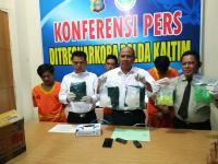 Penyelundupan 3 Kilogram Sabu dari Malaysia Digagalkan di Kaltim