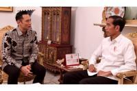 Menang Pilpres 2019, Jokowi Kembali Menjamu AHY di Istana