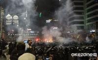 Polisi Imbau Massa Aksi 22 Mei Setop Lempar Petasan