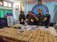 Terlibat Penyelundupan Ganja 74 Kg, Oknum TNI Ditangkap BNN