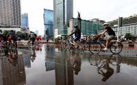 Pasca-Rusuh, Warga Jakarta Kembali Nikmati <i>Car Free Day</i> di Jalan MH Thamrin