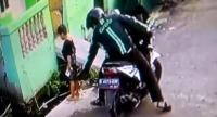 Polisi Tangkap Driver Ojek Online Penjambret Handphone Bocah yang Aksinya Terekam CCTV