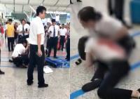 Pegawai Stasiun Ini Ditusuk Penumpang yang Kesal Ketinggalan Kereta