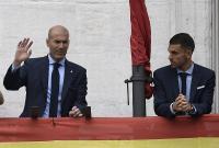 Ceballos Bantah Terlibat Cekcok dengan Zidane