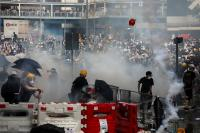 Dianggap Hina Yesus Saat Amankan Demonstrasi, Kepolisian Hong Kong Diseret ke Pengadilan