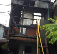 Rumah di Tamansari Jakbar Terbakar Diduga Akibat Korsleting Listrik