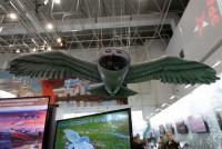Putin Pamerkan Drone Mata-Mata Rusia, Bentuknya Mirip Burung Hantu Harry Potter