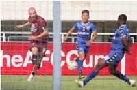 Becamex Binh Duong Unggul 1-0 atas PSM di Babak Pertama