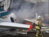Pesawat Tabrak Pabrik Limbah di Rusia, Dua Orang Tewas Puluhan Terluka