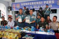 TNI AL Gagalkan Penyelundupan Sabu 21 Kg
