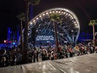 Ribuan Orang Dievakuasi dari Festival Musik Dampak Kebakaran Hutan