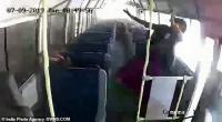 Rekaman dari Dalam Bus, Seorang Siswa dan Pengasuh Selamat saat Kecelakaan