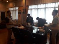 Dugaan Korupsi Renovasi Sirkuit, Polisi Geledah Kantor Kepala Dinas Pemuda dan Olahraga Sumut