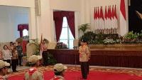 Jokowi Lepas Kontingen Pramuka ke Jambore Dunia di Amerika