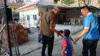Ganjar Main Bola Bareng Anak-Anak Pengidap HIV AIDS