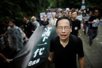 Ribuan Guru Protes demi Demokrasi Hong Kong