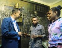 Mahasiswa Papua di Surabaya: Kami Cinta NKRI