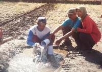 Air Bersih Menyembur Kuat dari Lahan Kekeringan Jadi Viral