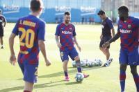 Messi Kembali Berlatih, Kabar Baik bagi Barcelona