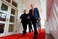 Trump Nyatakan Belum Siap untuk Kunjungi Pyongyang