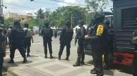 Demo Tuntut Selesaikan Pelanggaran HAM di Sorong Dibubarkan Polisi