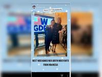 Ivanka Trump Unggah Foto Bareng Bupati Trenggalek di Instagram