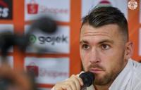 Jelang Persija vs Bali United, Ini Permintaan Simic kepada The Jakmania
