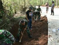 Pesatnya Pembangunan di Purwakarta Tak Lepas dari Peran Prajurit TNI
