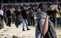 Aksi Mahasiswa Bandung Berujung Bentrok dengan Polisi