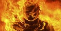 Kena Kembang Api, Kostum Pagelaran Wayang Jogja Night Carnival Terbakar