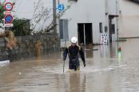 Topan Hagibis Hanyutkan Kantong-Kantong Limbah Radioaktif Jepang ke Sungai