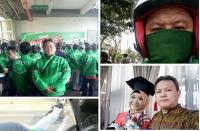 Kisah Anak <i>Driver</i> Ojol Wisuda, Keringat dan Air Mata Jadi Satu Demi S1
