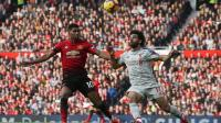 Cedera Hambat Mohamed Salah Akhiri Paceklik Gol ke Gawang Man United?