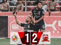 Madura United Menang Tipis di Markas Semen Padang