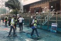 Polisi Dituduh Jadikan Masjid Sasaran Meriam Air dalam Demonstrasi Hong Kong