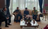 Pimpinan MPR Bertemu Surya Paloh di DPP Partai Nasdem
