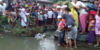 Warga Madina Dihebohkan Mayat Bayi yang Dibuang di Selokan