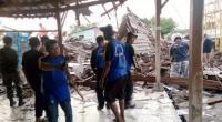 Viral Siswa SMK Berjibaku Selamatkan Korban Reruntuhan Aula Sekolah