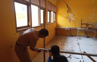 2 Ruang Kelas SD di Banjarnegara Rusak Parah Imbas Tanah Bergerak