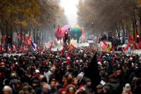 Transportasi Prancis Lumpuh Imbas Jutaan Pekerja Mogok Massal