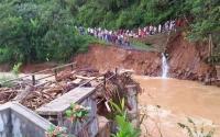 3 Jembatan Putus Usai Diterjang Banjir di 2 Kecamatan Kawasan Lebak