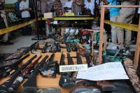 Kasus Perakitan dan Perdagangan Senapan Angin Illegal di Lumajang Terbongkar
