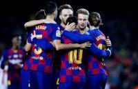 Barcelona Bantai Real Mallorca di Camp Nou