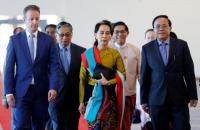 Sidang Genosida Rohingya, Pemimpin Myanmar Aung San Suu Kyi Tiba di Den Haag